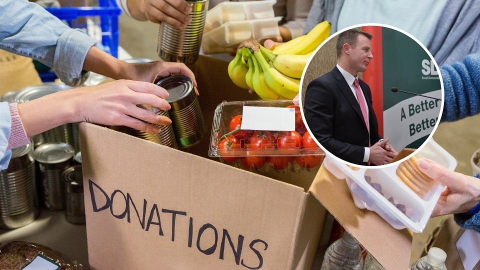 Growing levels of food poverty 'are indefensible' - Newry MLA - Newry Times - newry news facebook