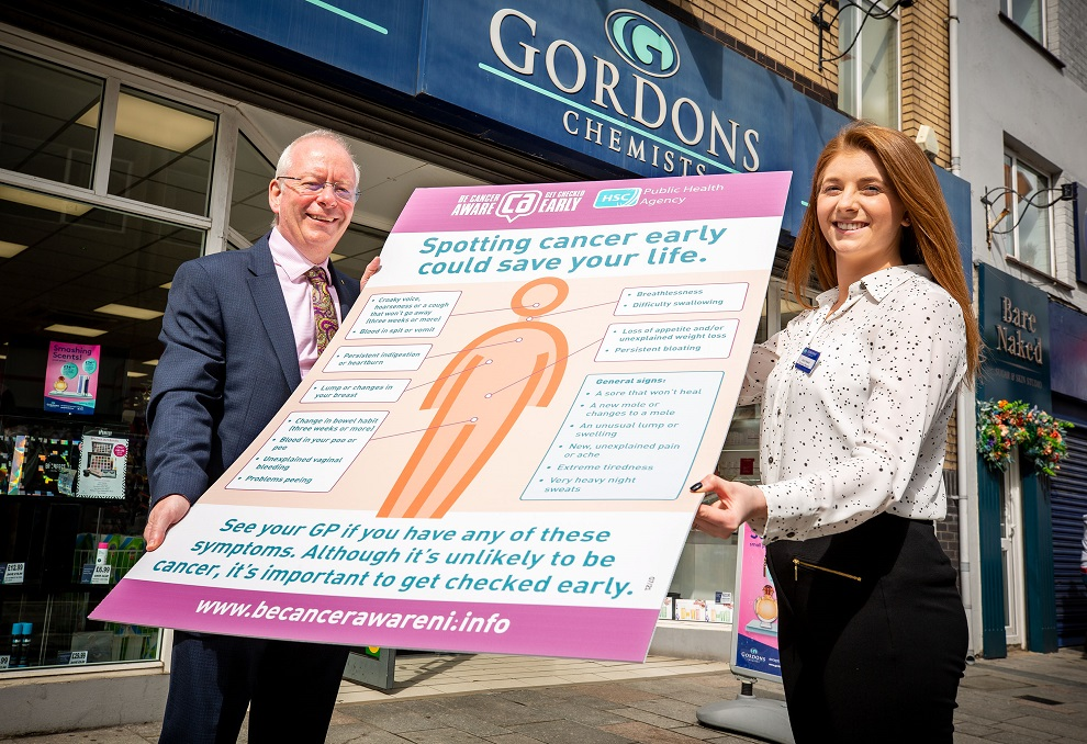 Pharmacy campaign to promote early diagnosis of cancer - Newry Times - breaking news newry